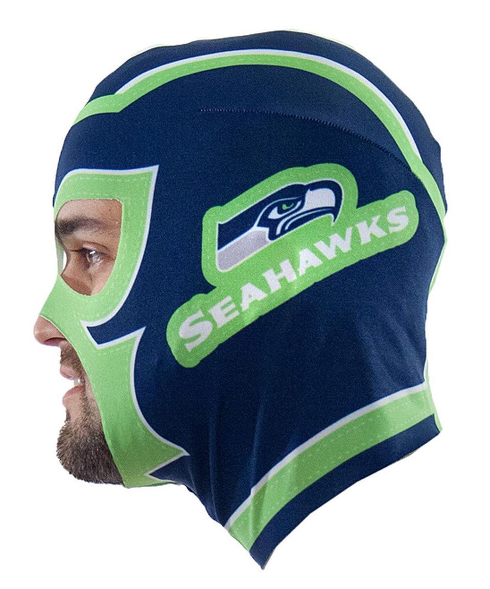 Love this Seattle Seahawks Fan Mask by Little Earth on #zulily! #zulilyfinds