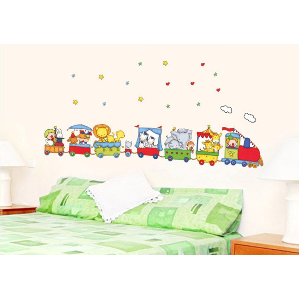 Yesurprise vinilo decorativo infantil pegatina pared for Pegatinas pared dormitorio