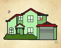 resultado de imagem para desenho de casas coloridas aleatório