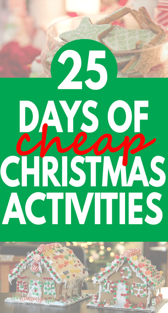 Looking For And Fun Things To Do As A Family Christmas Here Are 25 Days Worth Of Activities Get You Through The