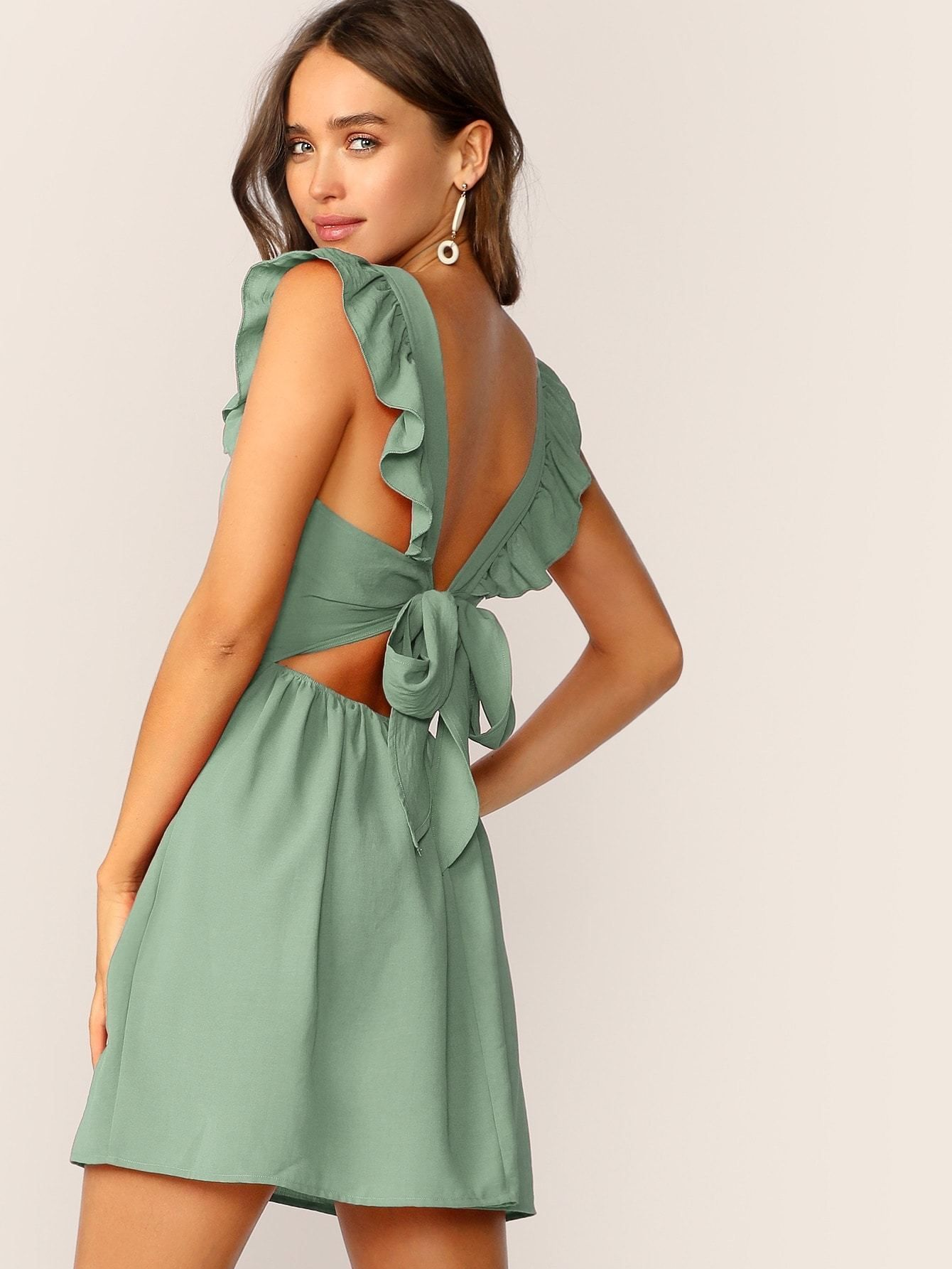 36++ Tie back dress ideas