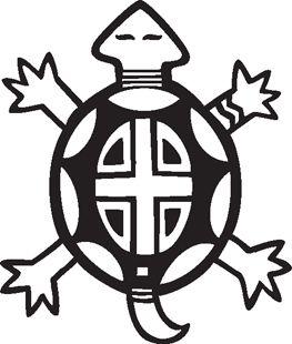 native american symbols clipart   Turtle :: Southwest Graphics ...