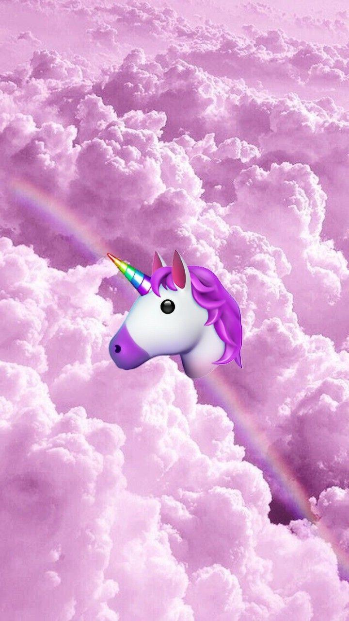 Unicorn emoji wallpaper 💫