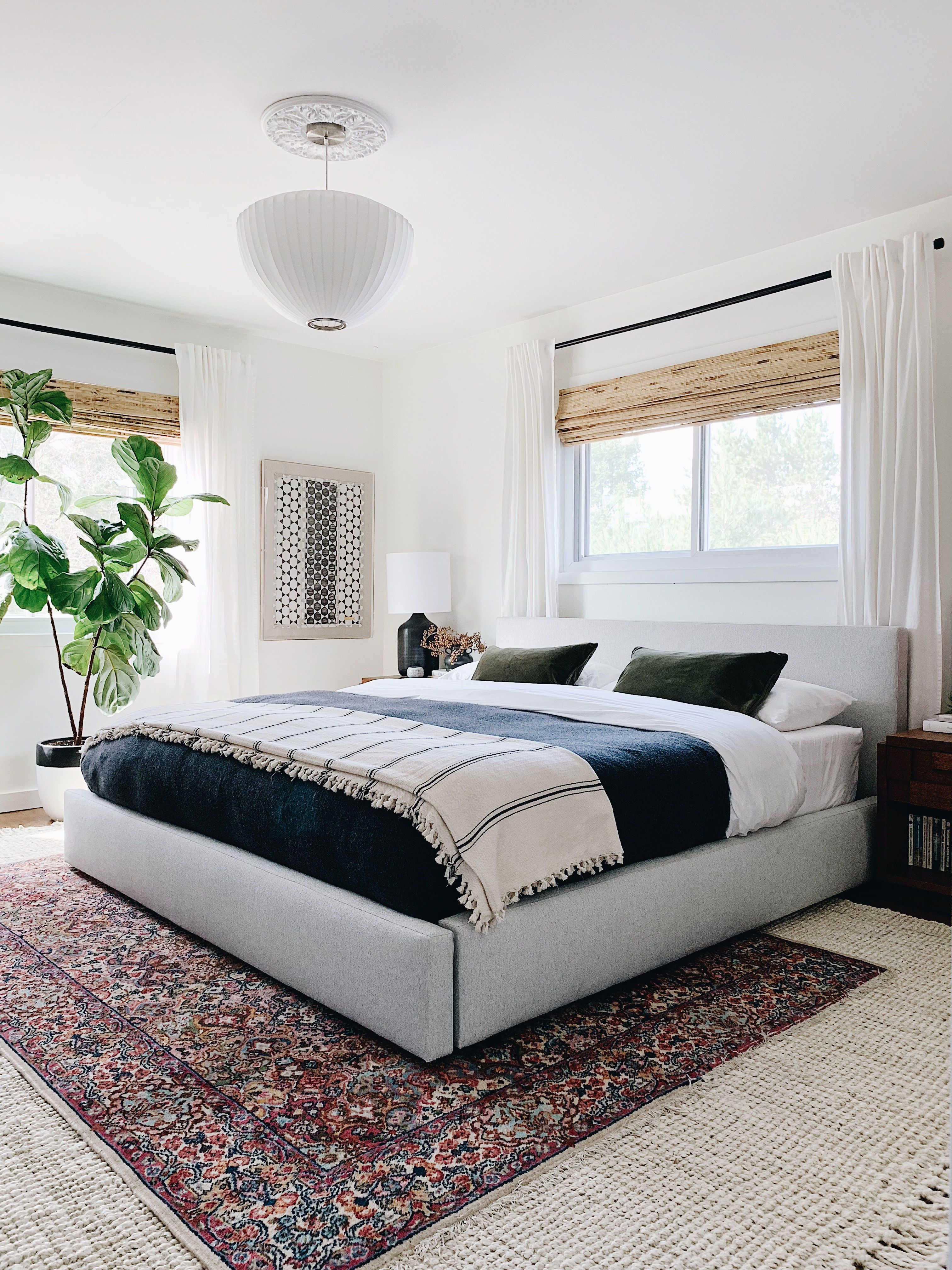 Room Board Calvin Queen Bed Modern Bedroom Furniture