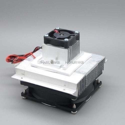 Thermoelectric Peltier Refrigeration Air Cooling System Cooler Fan