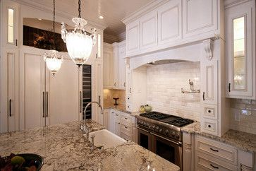 Lake Norman The Point - traditional - kitchen - charlotte - Walker Woodworking