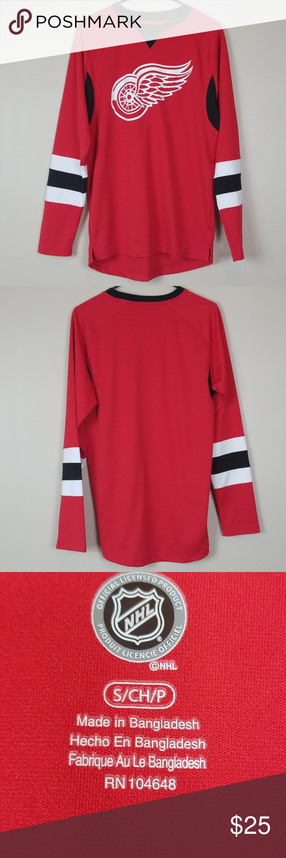 Nhl Jersey Size Small Nhl Jersey Size Small In Great Condition With No Imperfections Sizing Armpit To Armpit 20 Sl Clothes Design Fashion Design Size Small