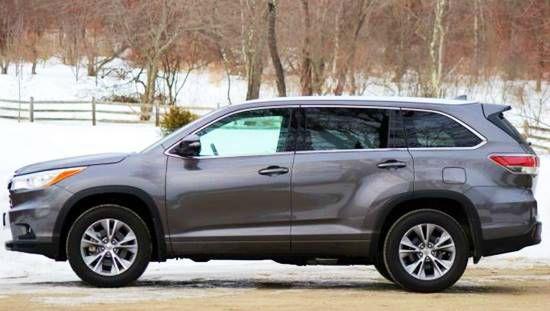 2017 Toyota Highlander Changes
