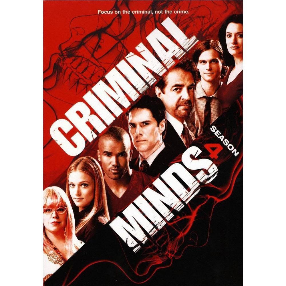 Criminal Minds: Season 4 (7 Discs) (DVD)