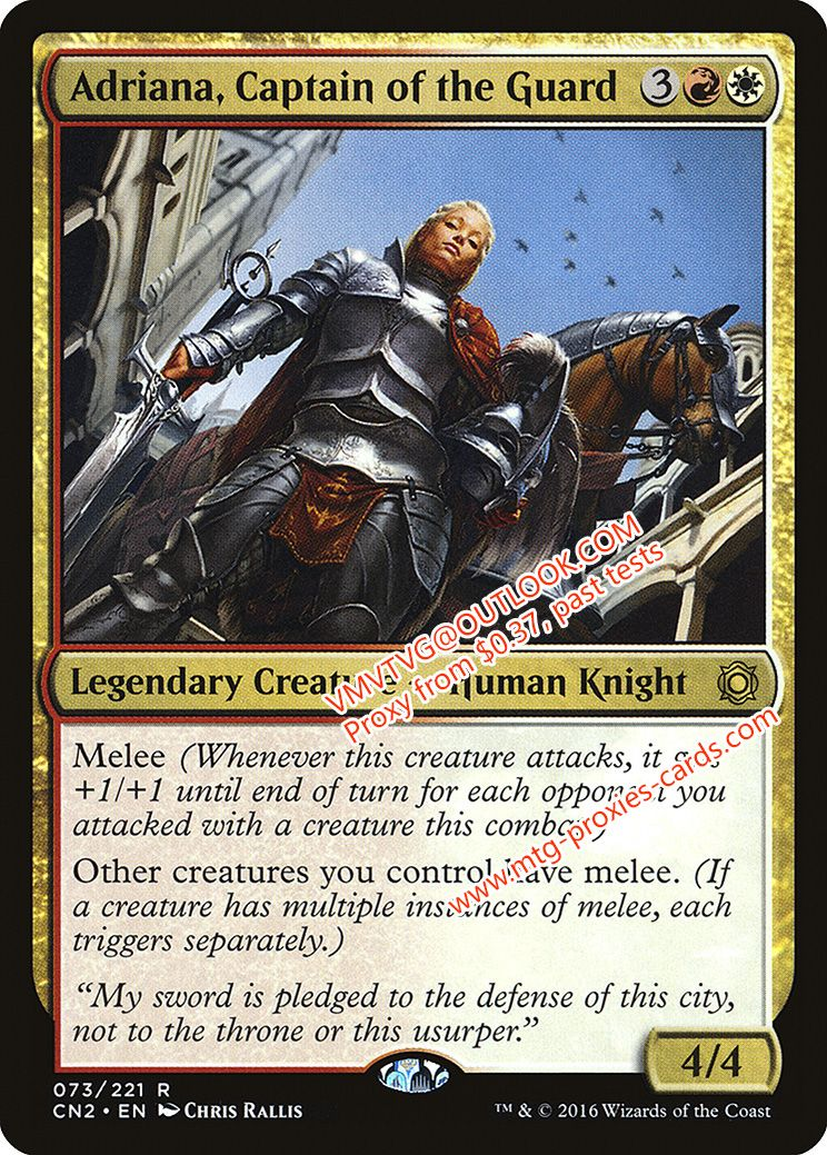 MTG Magic - Commander 2016 M Bruse Tarl NM//M Boorish Herder FOIL