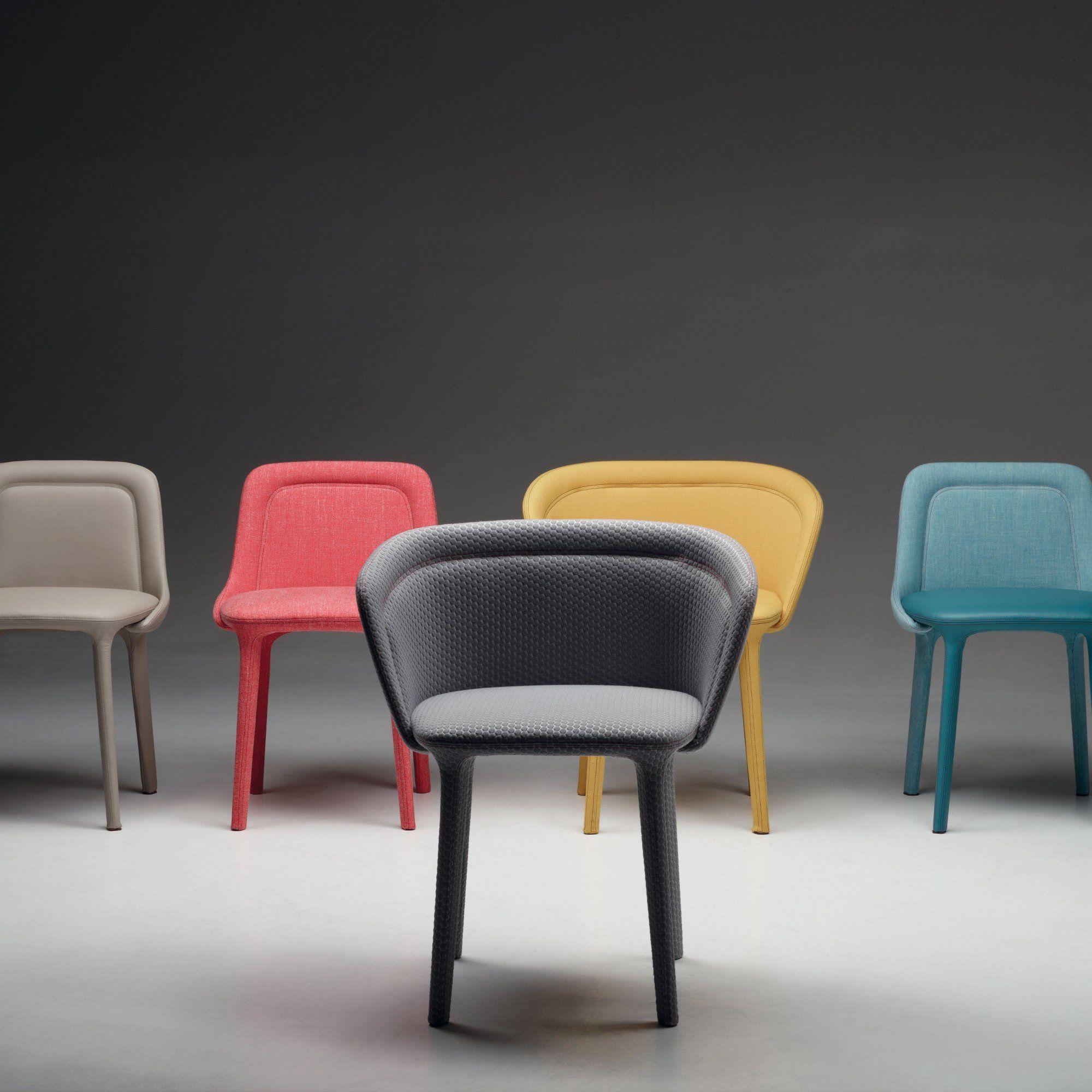 Une bureau chaise grisjaune de Casamania matelassée en xBroedCW