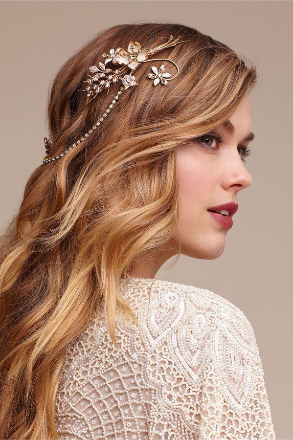 Boho Haarschmuck Gold Haarband Hochzeit Haarband Hochzeit Haarschmuck Braut Haarschmuck