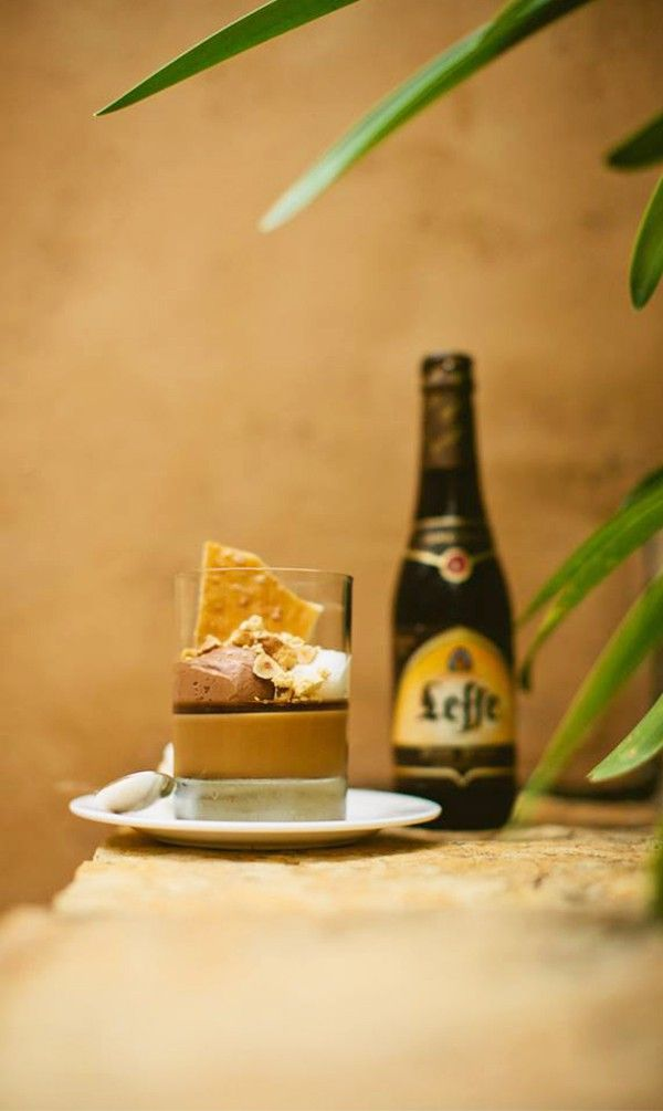 We always ensured to make room for dessert, especially when it was paired with Leffe Blonde.