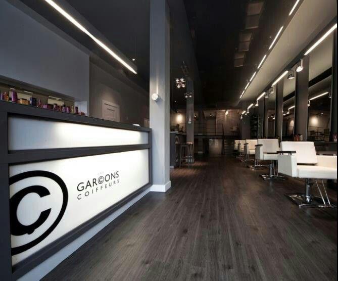 Espace Coiffure Hairdressing Space Design Deco Interior Design