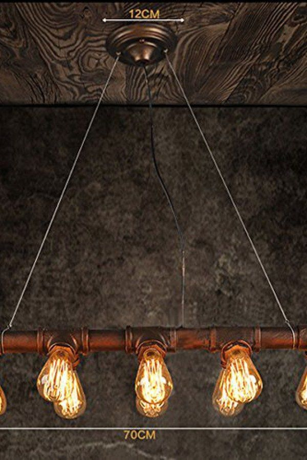 50 Creative Industrial Style Lighting Fixture Ideas To
