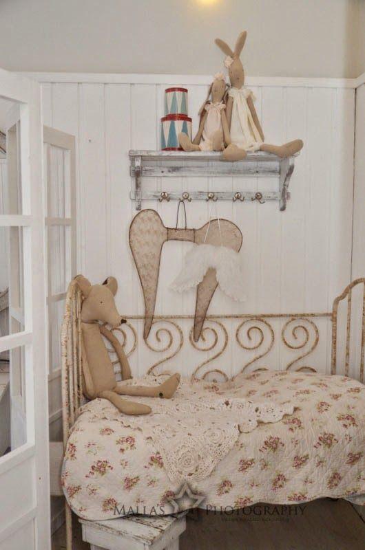 Romantic corner for a little girl