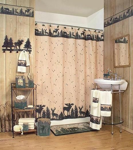 Cabin Accessories And Home Moose Lodge Decor Bathroom Gallery