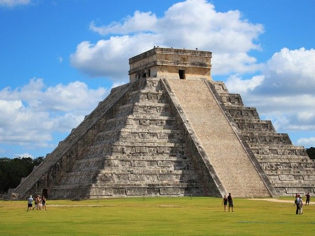 Our pyramids are better than your pyramids  (Chichen Itza