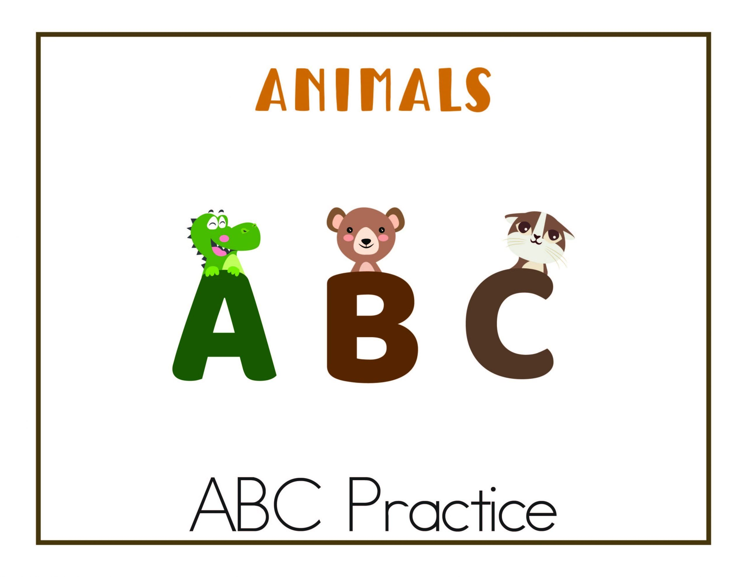 Abc Worksheets Free Printables In With Images