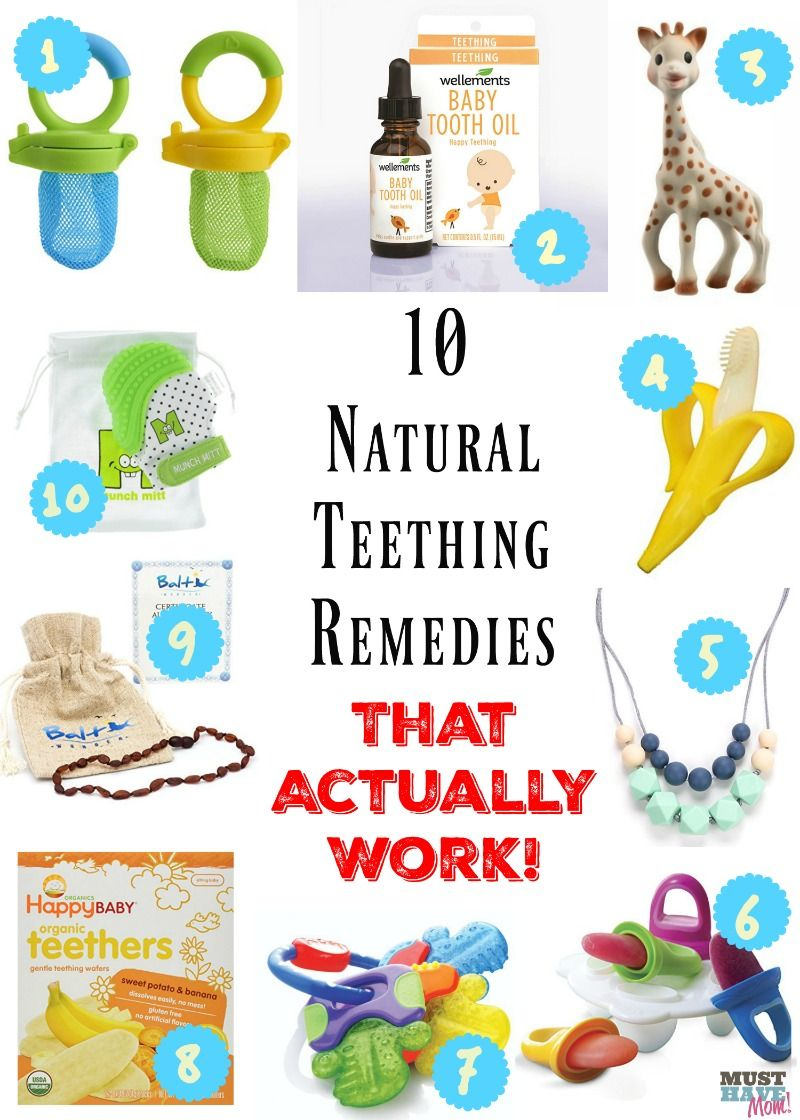 10 Natural Teething remedies that ACTUALLY work! This is from a mother of 4  and Registered Nurse! She shares natural remedies to relieve teething pain. cf7572a42501