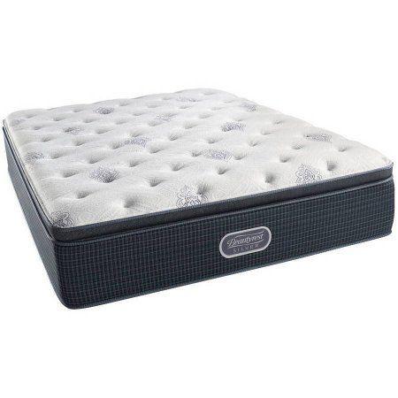 Beautyrest Silver Holland Plush Pillow Top Mattress In Home White