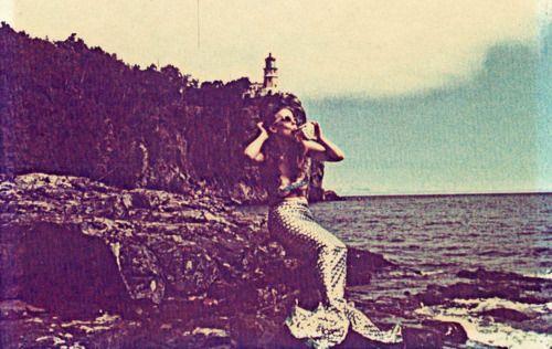 North Shore Movie Quote: Mermaid, North Shore Of Lake Superior, Minnesota (1970s
