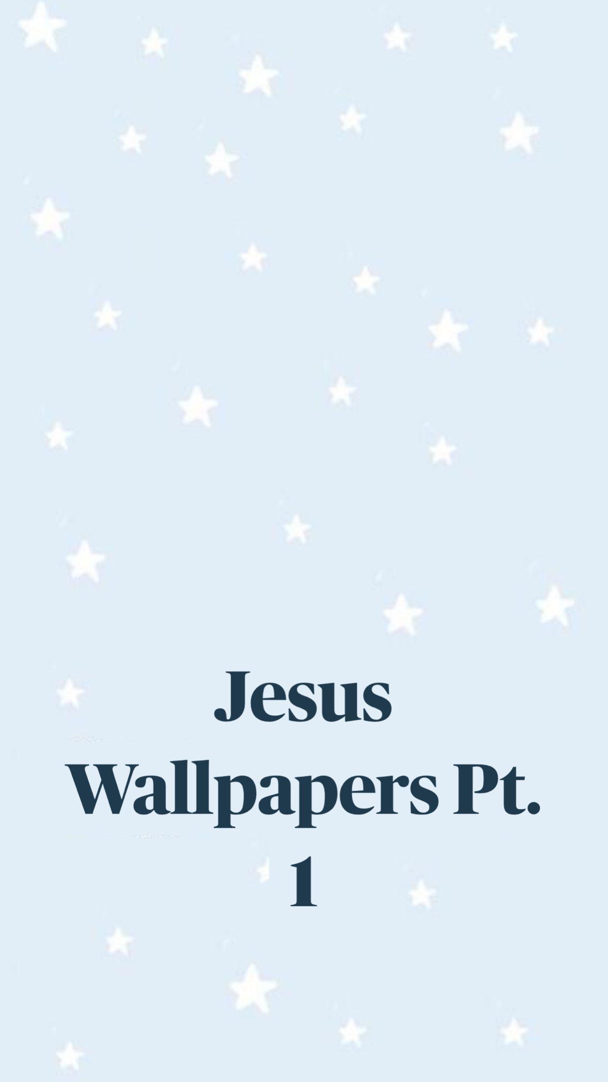 Jesus Wallpapers Pt. 1