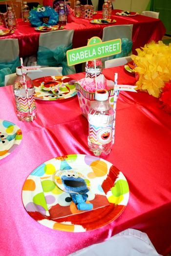 Rainbow Sesame Street Birthday