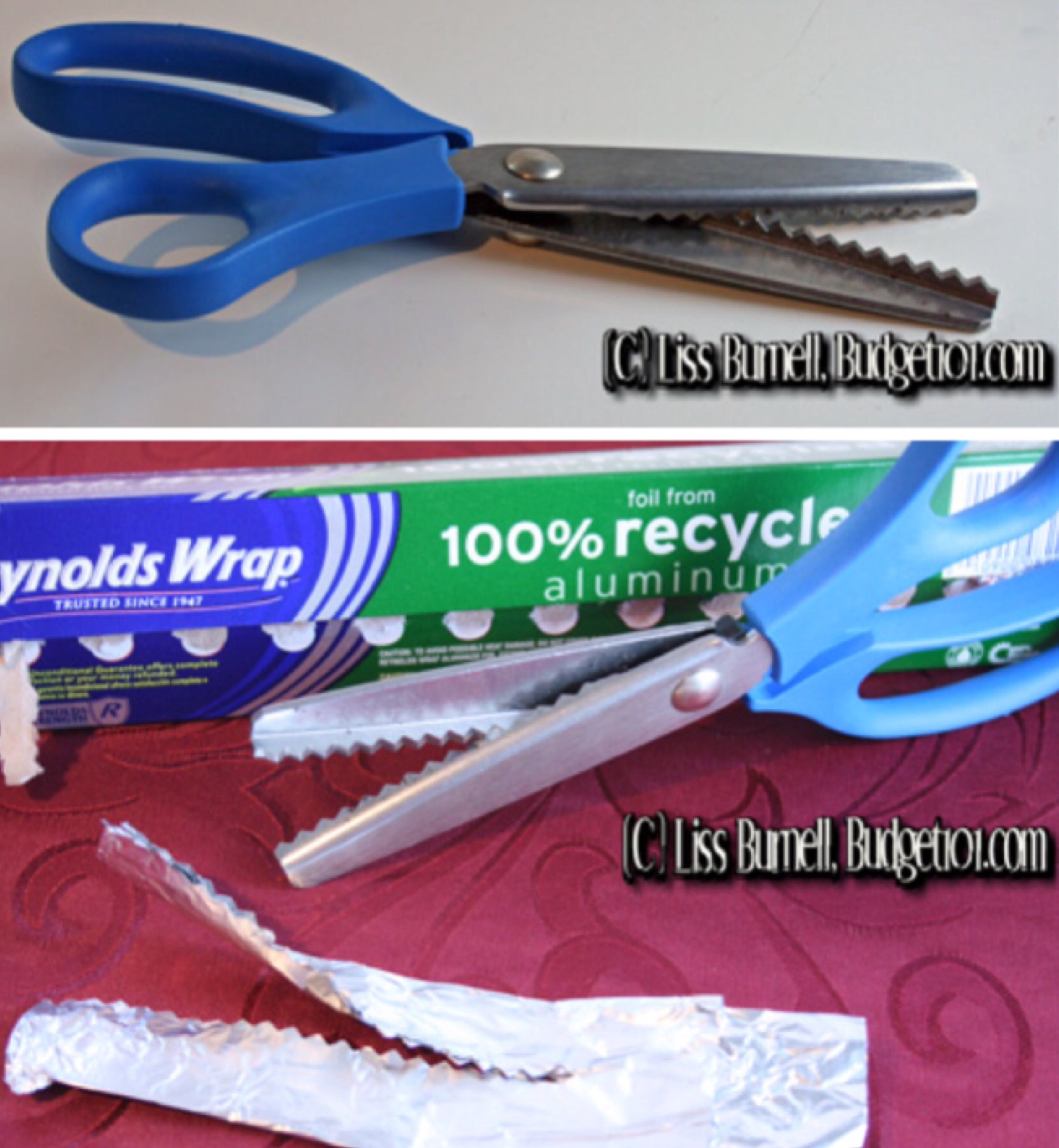 How To Sharpen Pinking Shears Pinking Shears Sewing Techniques