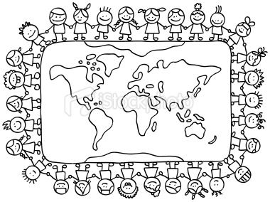 Or This Map Will Keep Kids Busy For Hours Visiting New Places And Making Friends