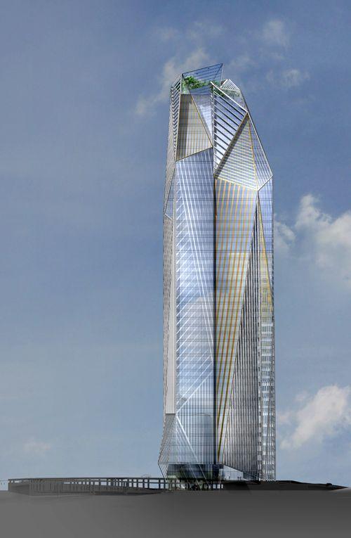 Tour Helka, La Defense, Puteaux-France, 231 m, proposed 2013, architect-Ateliers Jean Nouvel