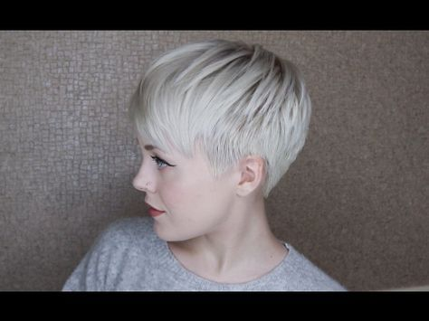 How I Get My Haircut / Michelle Williams Inspired Pixie