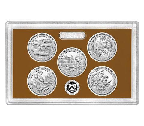 2017 annual coin set