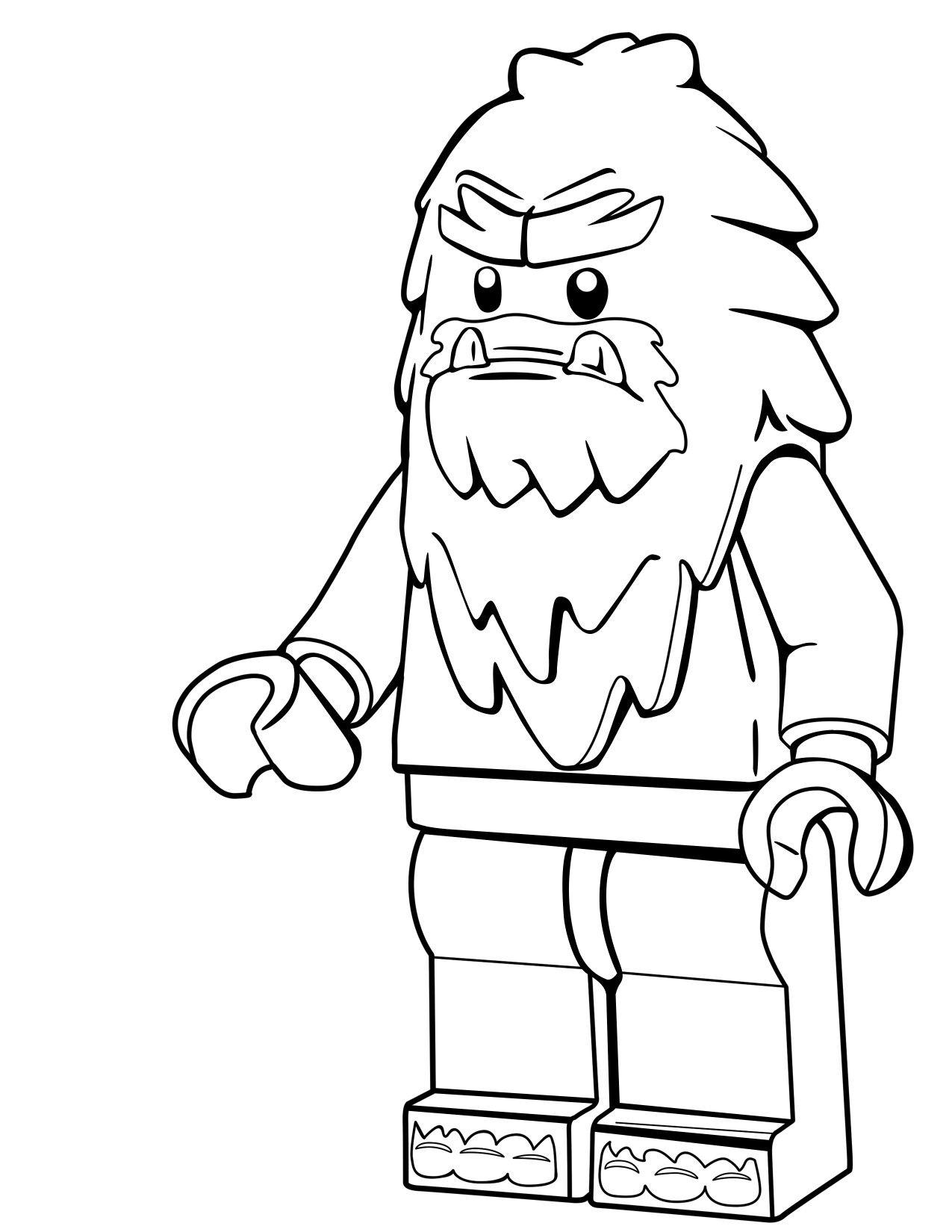 Free Printable Bigfoot Coloring Pages - Workberdubeat Coloring