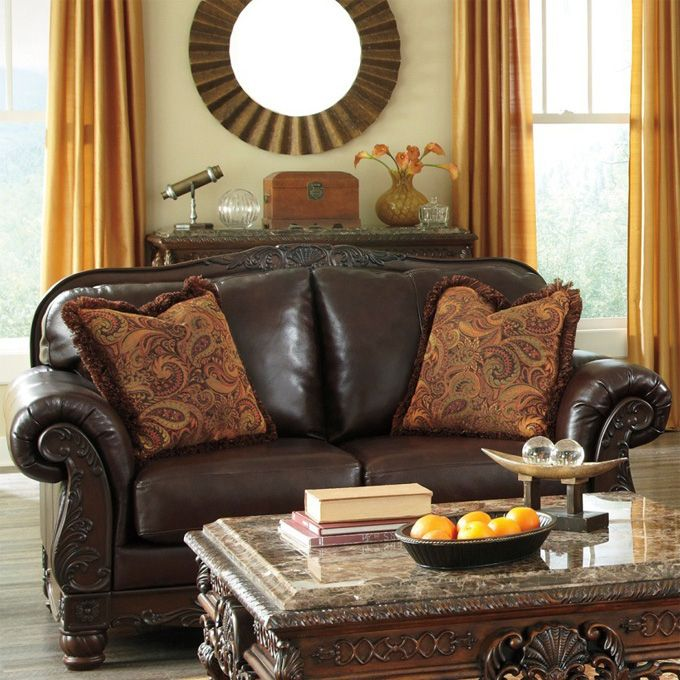 Ashley North Shore Loveseat