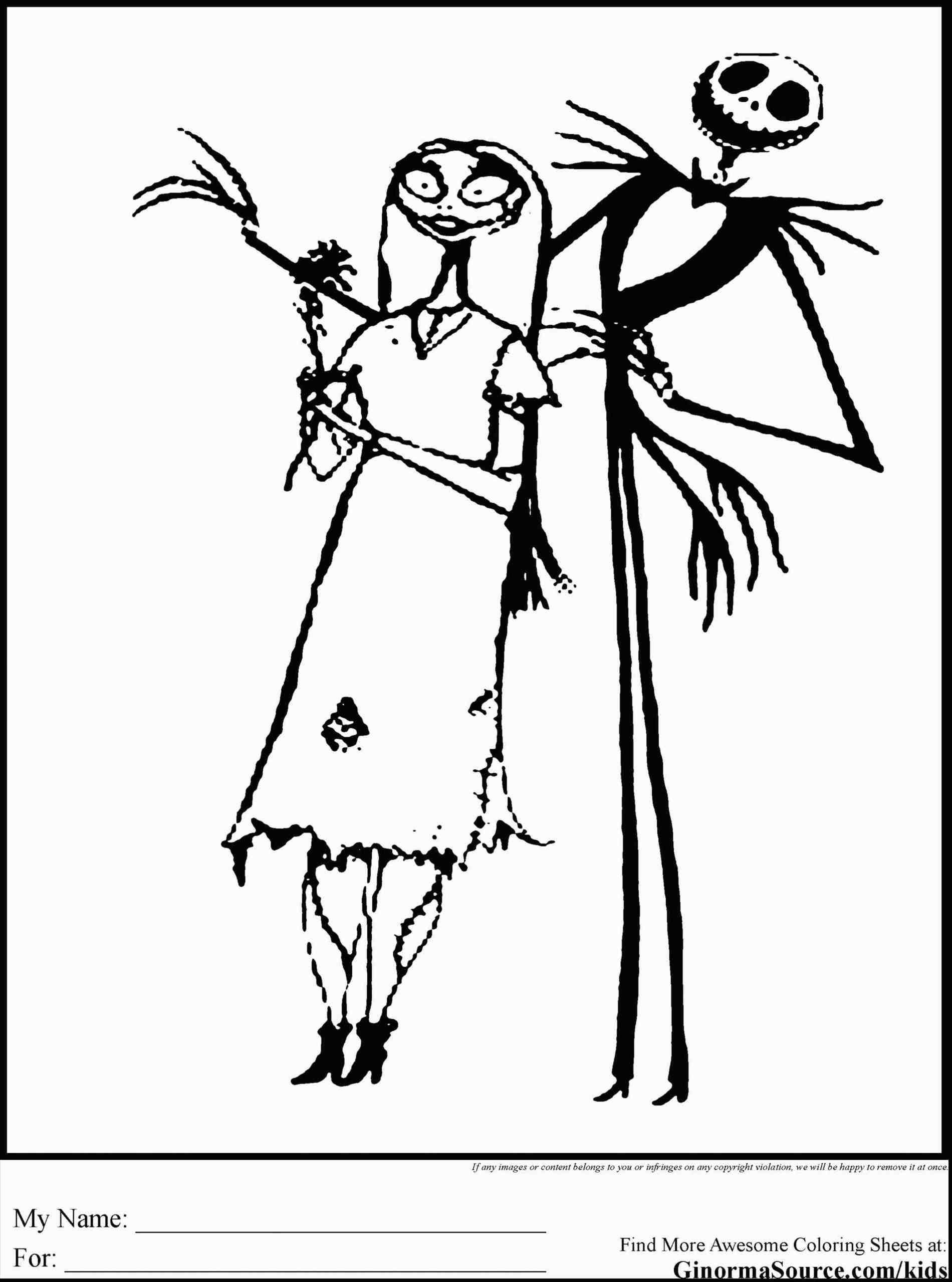 New Post nightmare before christmas coloring pages mayor | xmast ...