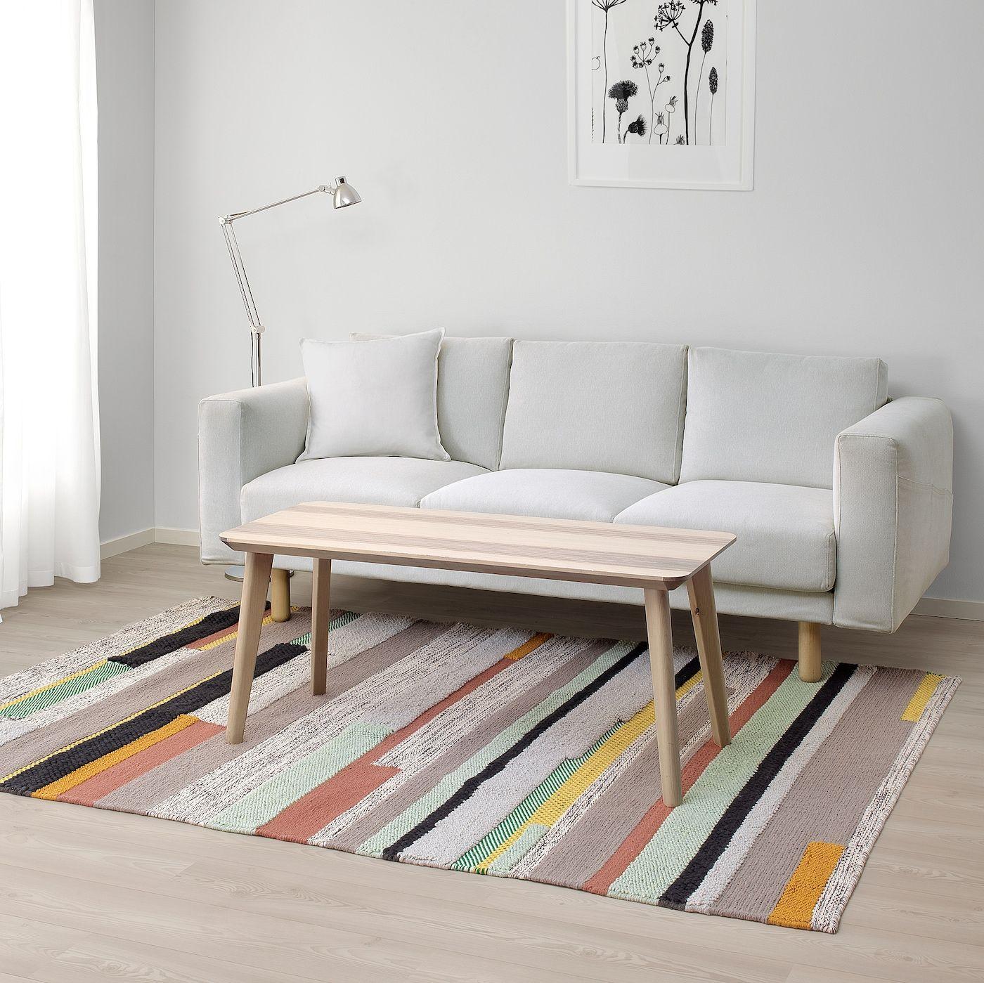 BrÖnden Teppich Kurzflor Handarbeit Bunt 170x240 Cm Ikea Österreich Ikea Teppich Handgemachte Wohndekoration Teppich Reinigen