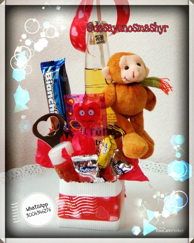 Coronita con destapador y chocolates | Jenny Nuñez | Pinterest