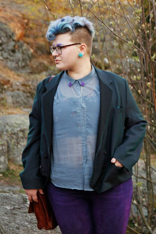 Apr 26 9 Plus Size Cuties Share Tips For Androgynous Style ...