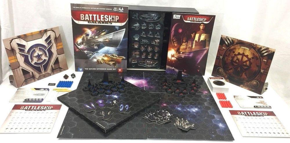 Hasbro Battleship Galaxies Space Combat Miniatures Board Game