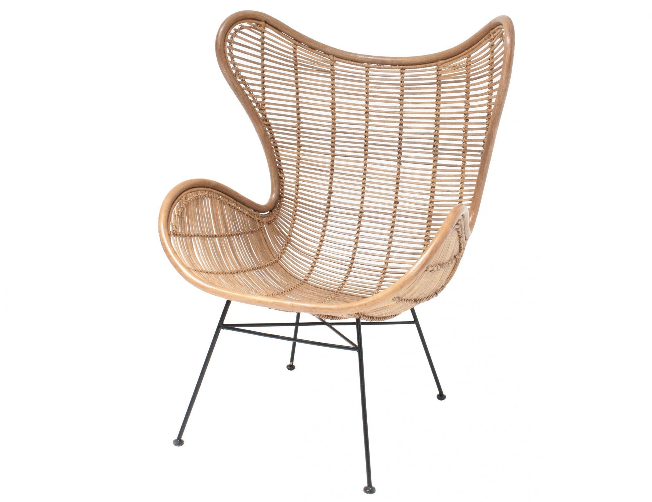 Sessel Egg Chair Rattan Natur Eggchair Egg Chair Pinterest