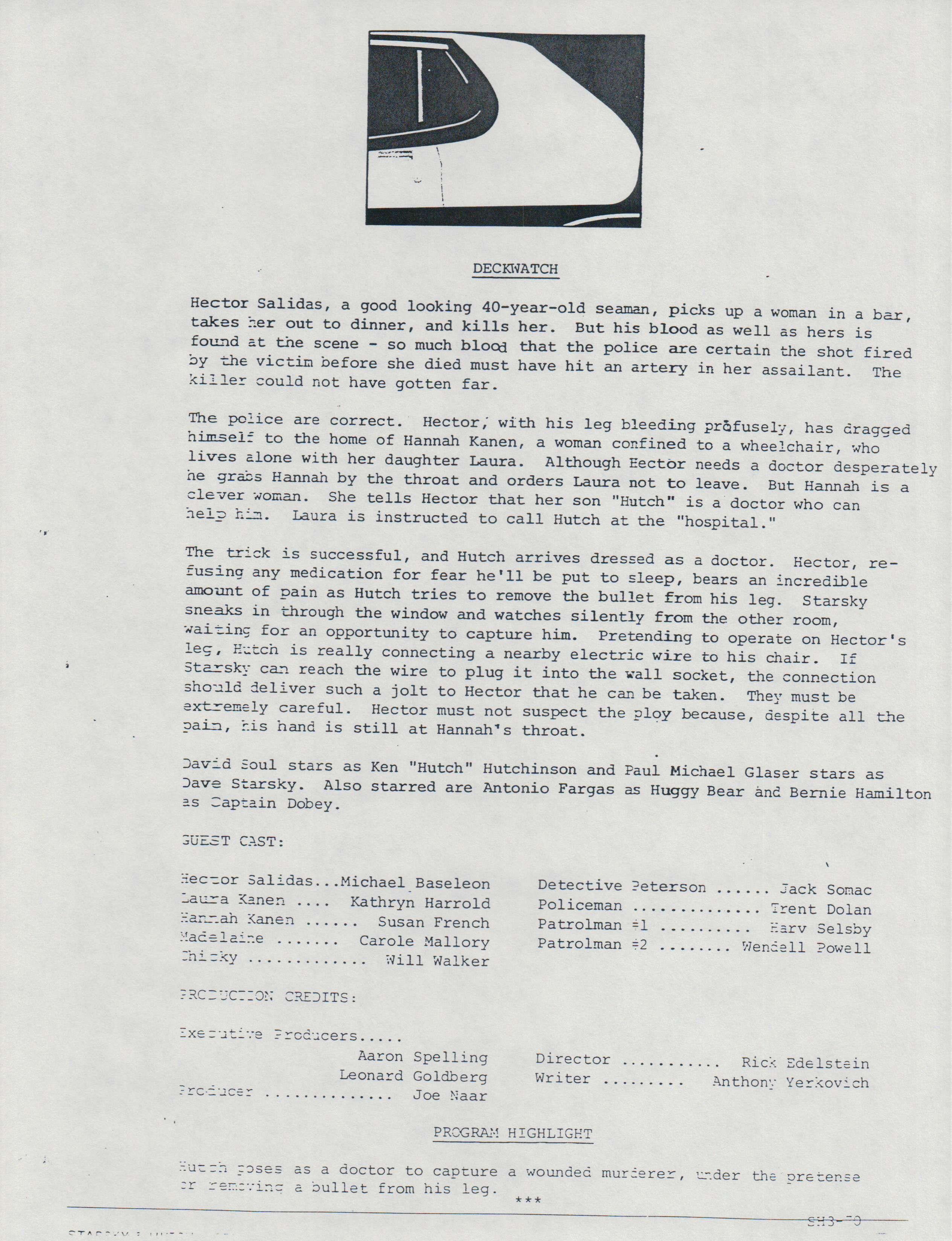 Pin On Starsky Hutch Episodes
