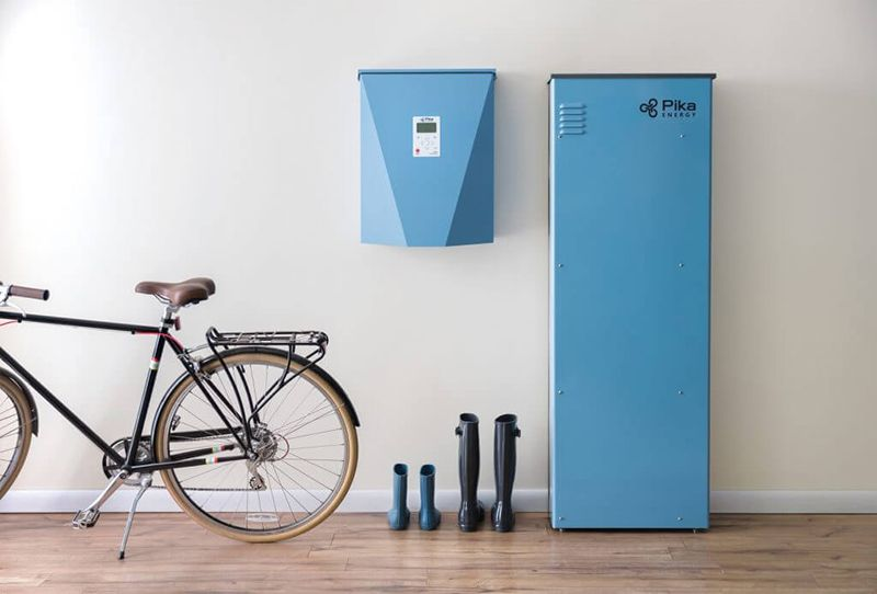 Panasonic Eco Solutions North America And U S Based Inverter Manufacturer Pika Energy Have Part Energy Storage Solar Panel Installation Solar Water Heater Diy