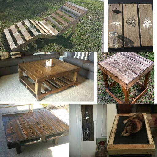 Patio Furniture For Sale Orlando Florida: Rustic Pallet Furniture And Crafts. For Sale In Orlando