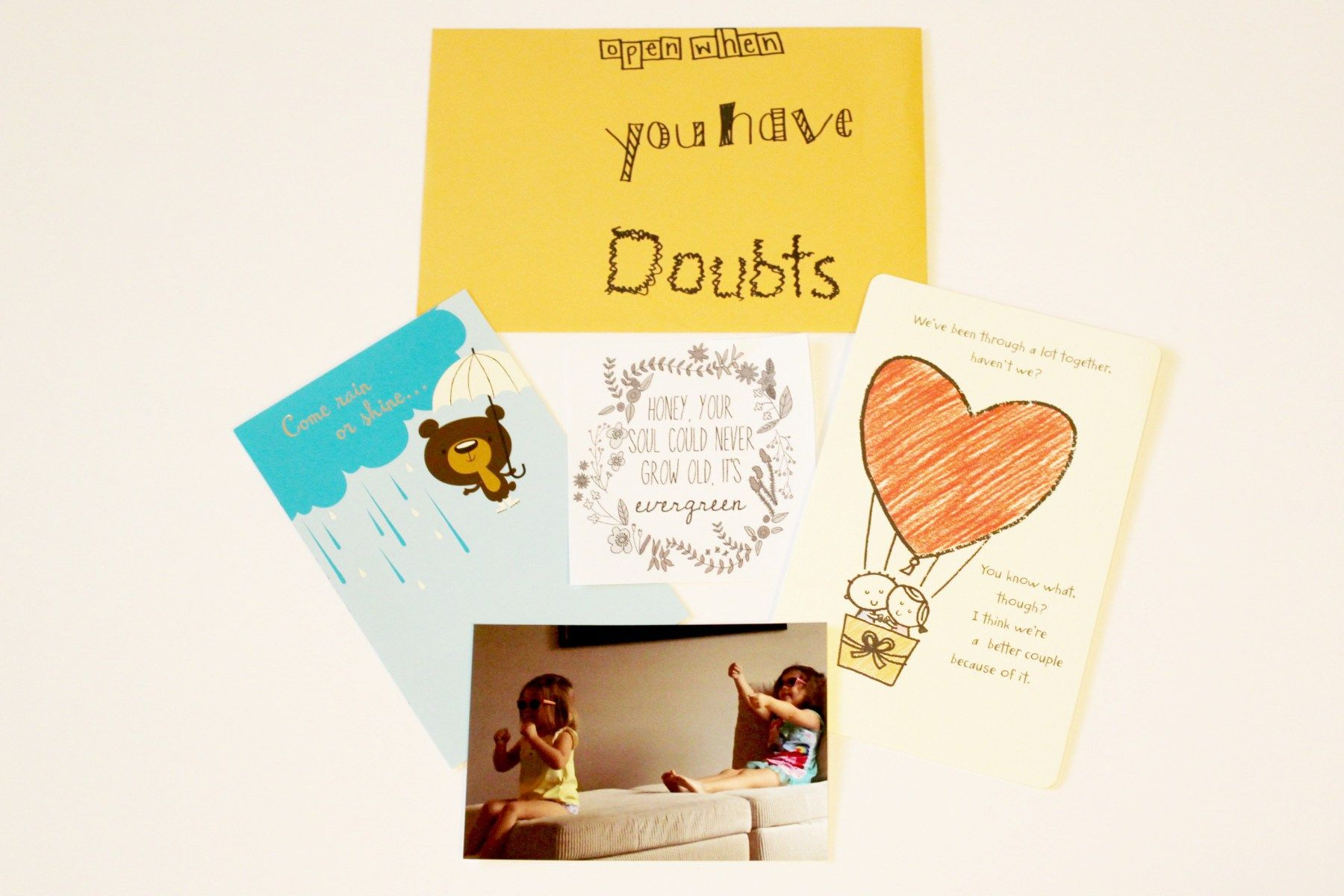 Open When Letter Topics & Ideas with Examples Ideas