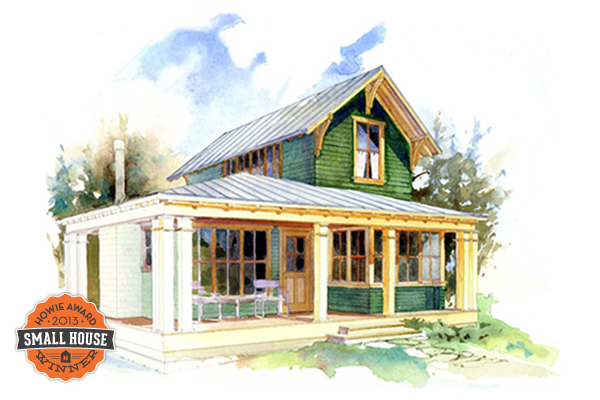 2014 Howie Award Winners Time To Build Small Cottage House Plans Small Cottage Homes Cottage Plan