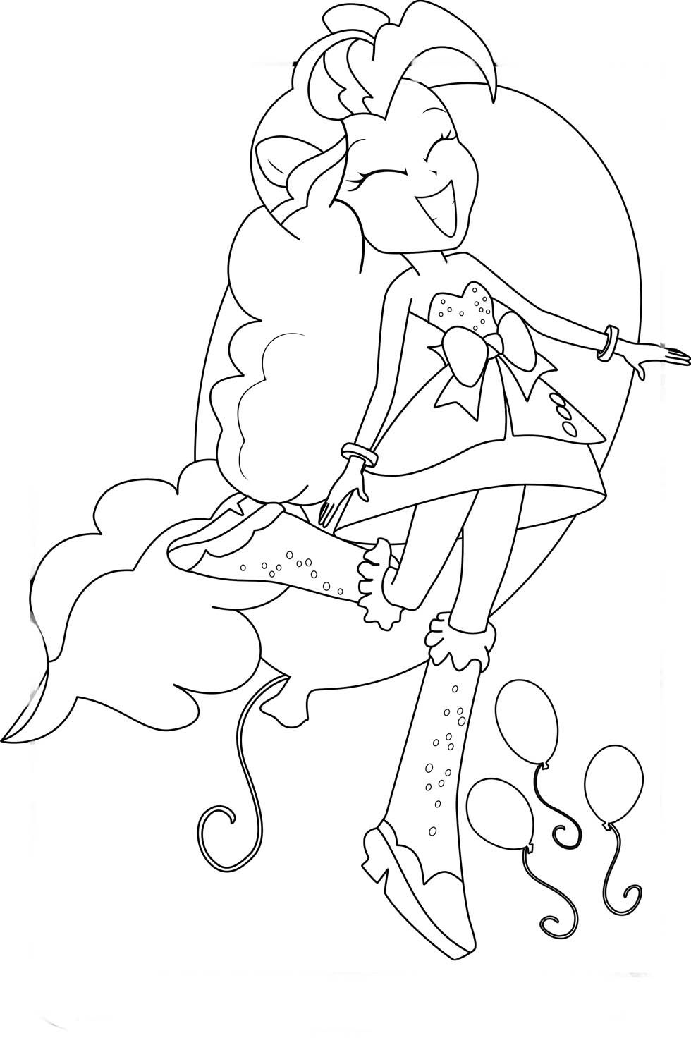 Equestria Girls Para Colorir Paginas Para Colorir Desenhos