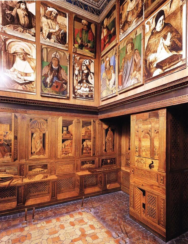Fino al 4 luglio potete vedere lo Studiolo di Federico da Montefeltro nella sua forma originaria.