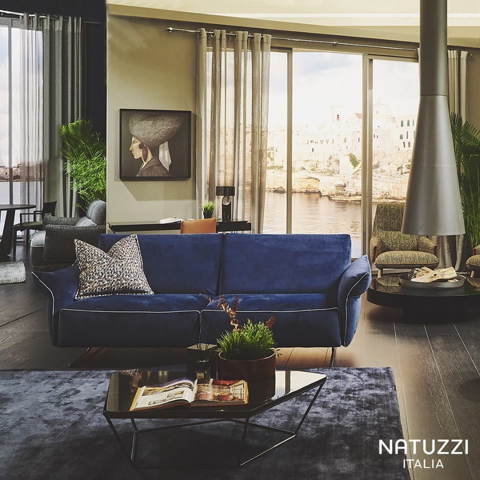 Poltrone E Sofa Gravellona Toce vintage look for a timeless style: natuzzi's milano is ideal
