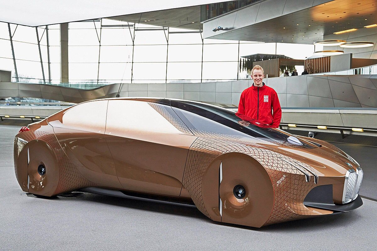 Bmw Visions Next 100 Concept With Images Luxury Cars Bmw